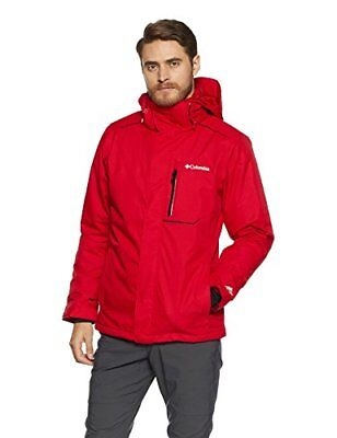 Columbia Ride On Jacket Mountain Red XL