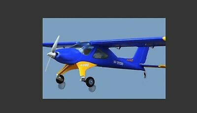 RADIO CONTROL WILGA Model Aircraft N01 Of Two Listed