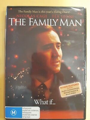 The Family Man [ Region 4 DVD ] BRAND NEW & SEALED, Free Next Day Post from NSW