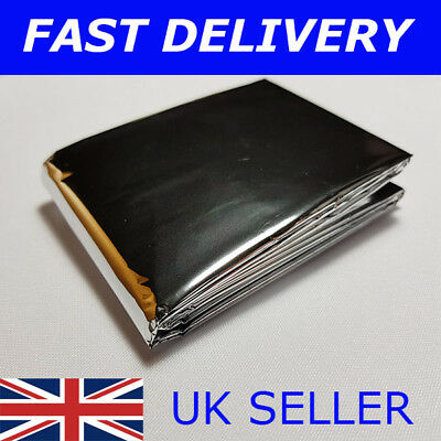 NEW LARGE 2.1 METRE EMERGENCY THERMAL WATERPROOF FOIL BLANKET First Aid Camping