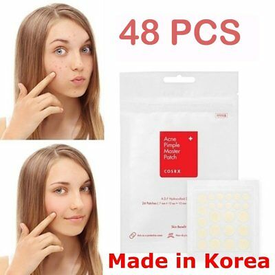 [Cosrx]Acne Pimple Master Patch 48 Patche Face Spot Scar Care Treatment StickeC@