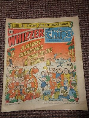 Vintage Whizzer & Chips Comic Christmas 1979 Edition L1