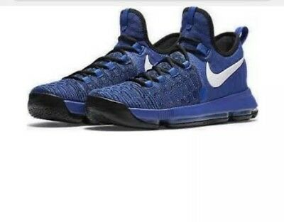 00ad25716fdf Brand New Nike Zoom KD 9 IX Game Royal Blue Black 100% Authentic Size 9