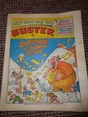 Vintage Buster Comic 1979 Christmas is a Comin Issue L1