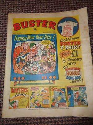 Vintage Buster Comic 1980 New Year Edition L1