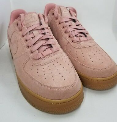NIKE AIR FORCE One Low Suede ID size 8 AQ3661 991 $109.99