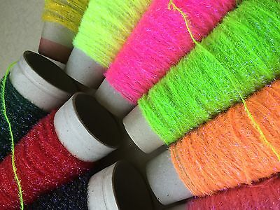 2m UV BOOSTED STRAGGLE FRITZ CHENILLE - FLY TYING