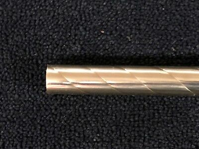 "Spiral / Twisted Brass Tubing 7/8"" x 12"" polished"