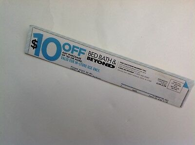 Bed Bath and Beyond Coupon $10 off $30 In Store Does not Expire