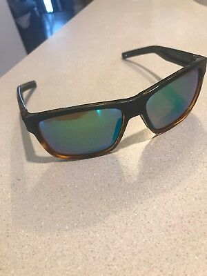 f55277d50d Costa Del Mar Slack Tide Black Tortoise Green Mirror 580P Plastic Polarized  Lens