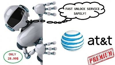 AT&T USA FACTORY UNLOCK - SEMI PREMIUM (active on another AT&T account)