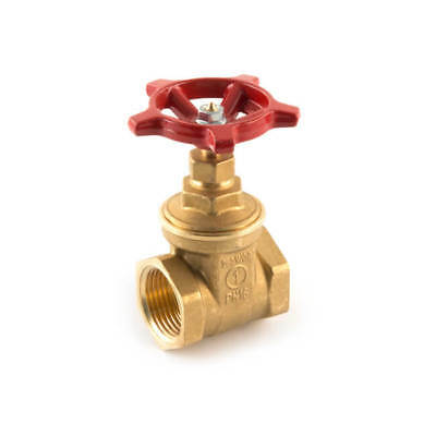 "NEW Wheelhead Gate Valve - 1"" BSP F Brass PN16 UK SELLER, FREEPOST"