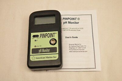 American Marine PinPoint PH Monitor NEW