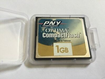 1pcs 1gb PNY  Optima Compact flash memory for DSLR CF I cameras NIKON CANON