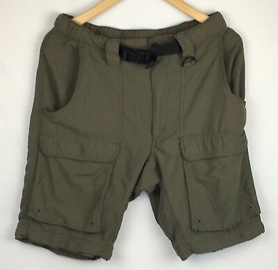 Boy Scouts Official Uniform Convertible Shorts Only Relaxed Mens Small