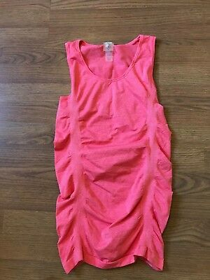 d10cad9dbe78b Calia By Carrie Underwood Tank Top Core Seamless Ruched Peach Size S Small