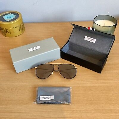 555eafd5a07 AUTHENTIC THOM BROWNE TB-110 18k Gold -  775 - EUR 569