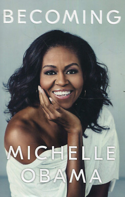 Becoming by Michelle Obama Hardcover Book Memoir Free Fast Shipping Brand New
