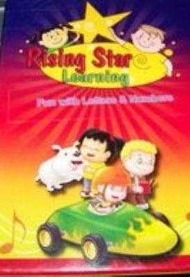 Rising Star Learning: Fun With Letters & Numbers PC CD teach ABC's phonics game!