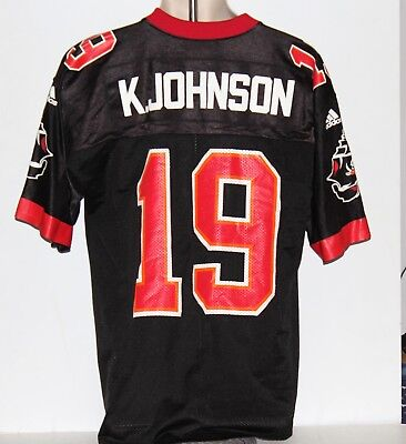 NFL Tampa Bay Buccaneers Keyshawn Johnson adidas Men s Medium Black Jersey a420d23ae