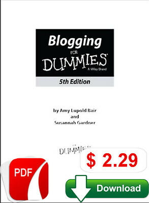 Google Blogger For Dummies Pdf