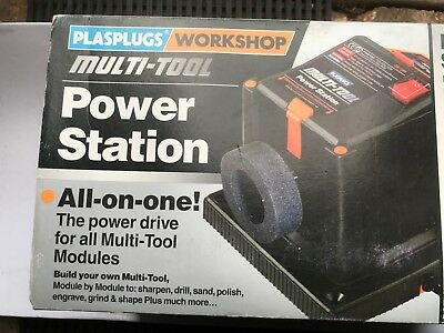 NEW PLASPLUG 240v MULTI TOOL POWER UNIT WITH A RANGE OF 6 ATTACHMENTS