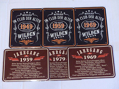 Business Industrie Schild Retro Vintage Geburtstag 40 40er