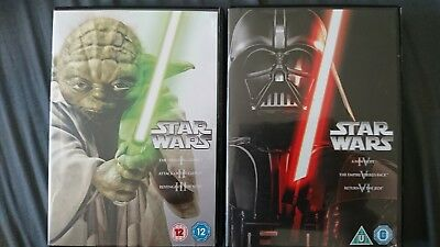Star Wars - The Original Trilogy (DVD) and Star Wars- The Prequel Trilogy (DVD)
