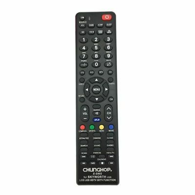 Skyworth TV Universal NO PROGRAMMING 3D HDTV LED LCD Remote Control Controller
