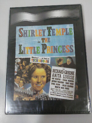The Little Princess Shirley Temple Dvd Slim Spanish New