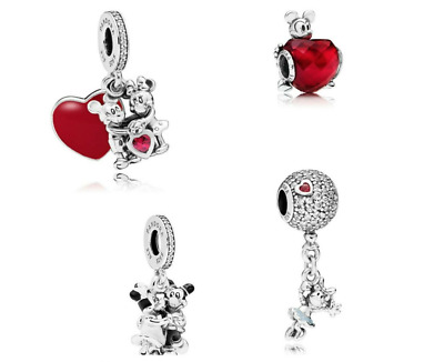 Genuine Pandora Sterling Silver S925 ALE Disney Pendant Charm Dangle Bead Bunny