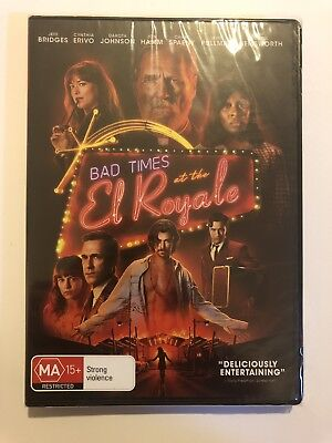 Bad Times at the El Royale DVD 2019 Movie 🍿 Region 4 Genuine Brand New & Sealed