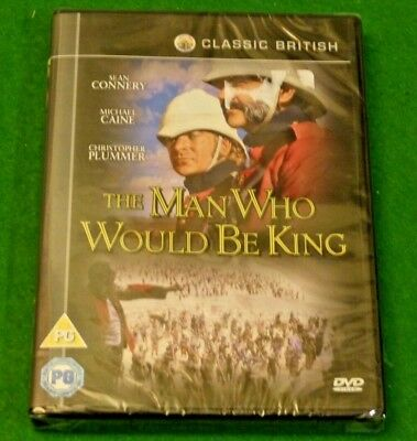 THE MAN WHO WOULD BE KING DVD (2010 edition) - Region 2 & 4 - Brand New & Sealed