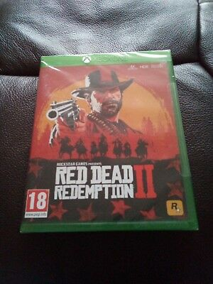 Red Dead Redemption 2 (Microsoft Xbox One, 2018)Brand New and sealed