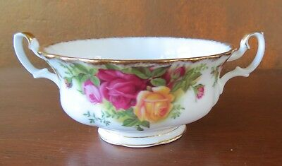 Royal Albert Old Country Roses Gold Trim China Cream Soup Bowl(s)