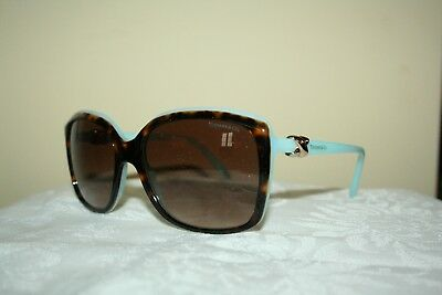 150ac691f896 New Tiffany   Co. Sunglasses TF4076 Top Havana Blue-Brown Grad lens(8134