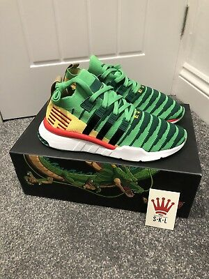 big sale 15567 c0a05 Adidas Dragonball Z Eqt Support Mid Adv Primeknit Uk8.5 Shenron Green D97056