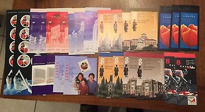 CANADA NEED POSTAGE? LOT OF BOOKLETS FACE VALUE 100$ 40c at 51c MNH WITH COVER