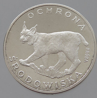 POLAND SILVER 100 ZLOTYCH 1979 PROOF PROBA   #p23 119