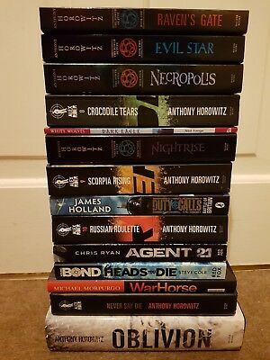 Alex Rider Collection - Anthony Horowitz -  Books bundle young bond evil star