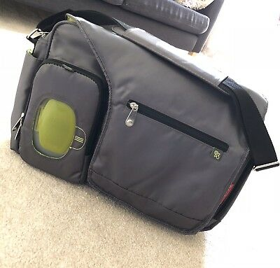Fisher Price Fisher Price Fastfinder Deluxe Messenger Bag, Grey Free Shipping