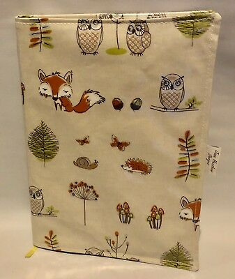 A4 diary covers,book bag,A4 book bag,diary cover,Woodland oilcloth