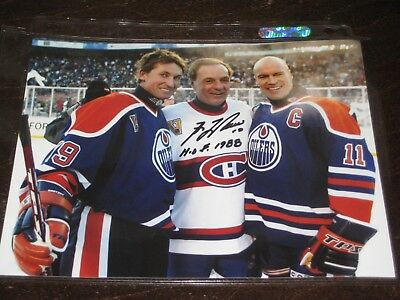 "GUY LAFLEUR autographed MONTREAL CANADIENS ""Heritage Classic"" 8X10 photo *HOF*"