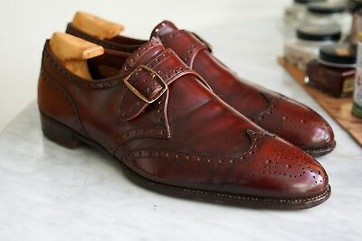 BESPOKE New and Lingwood, by George Cleverley Single Monk Brogue UK8 US 8.5 2192dde27d8