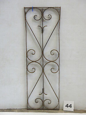Antique Egyptian Architectural Wrought Iron Panel Grate (E-44)