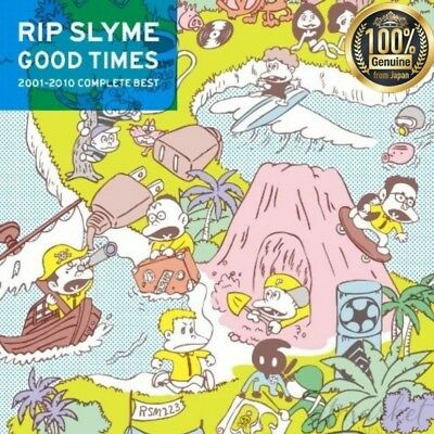 Nuevo Rip Slyme Good Times (Normalmente) Original From Japan