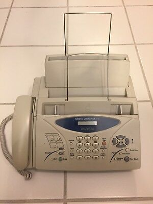 Brother IntelliFax 885MC Plain-Paper Fax with Message Center & Copier