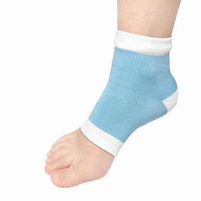 1Pair Moisturising Gel Heel Socks Cracked Foot Dry Skin Protector  3E