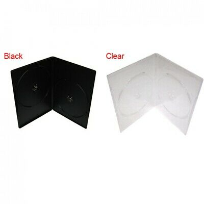 PREMIUM SLIM Slimline Double DVD Cases 7MM (100% New Material)