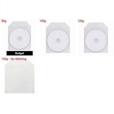 CPP Clear Plastic Sleeve with Flap